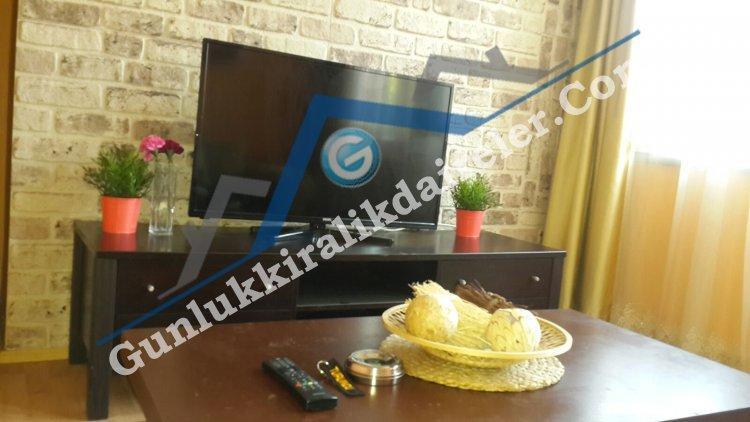 TURUNCU-Ankara Kızılay'da 1+1  Konforlu Daire