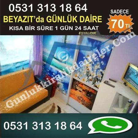 İstanbul Fatih De Günlük kiralık ev EN UCUZ BİZDE
